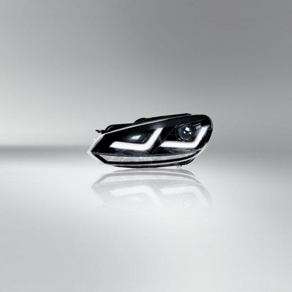 LEDriving_XENARC_Golf_VI_BLACK_LEDHL102-BK_RHD