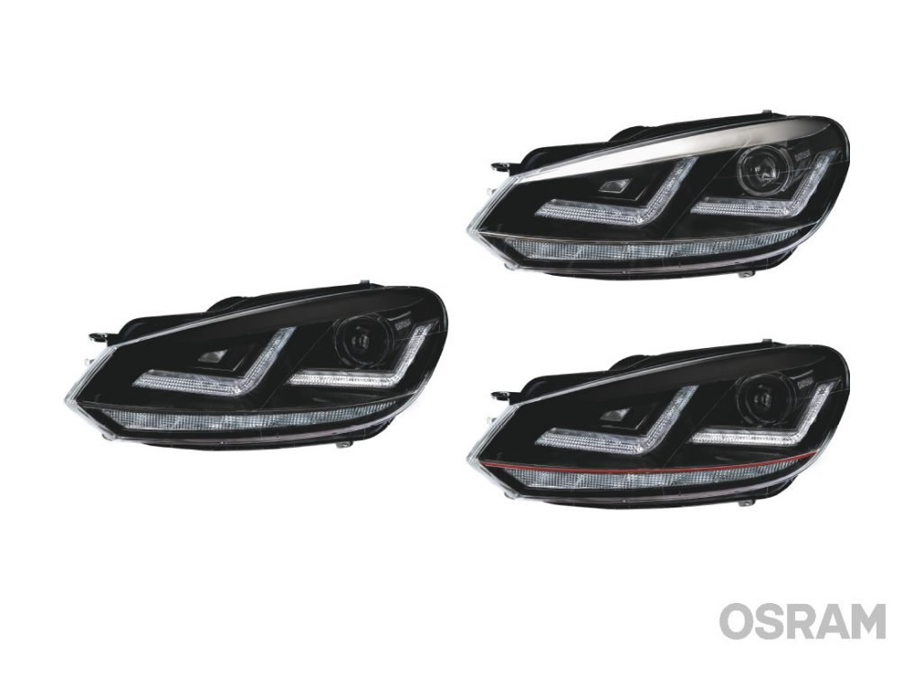 Differenze kit fari OSRAM LEDriving Chrome Black e GTI