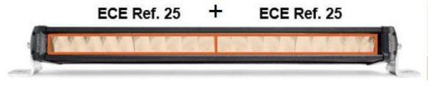Dettaglio omologazione Barra LED OSRAM LEDDL104-CB SM