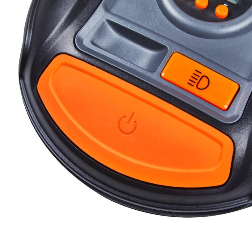 compressore Auto Portatile 12V gonfiaggio Pneumatici in 3,5 min Alimentazione Tramite accendisigari Pompa elettrica Digitale Stop e Luce a LED OSRAM OTI450 TYREinflate 450